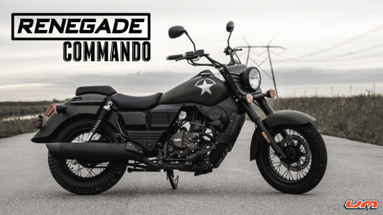 Lexmoto Adventure Club Introducing the Renegade Commando