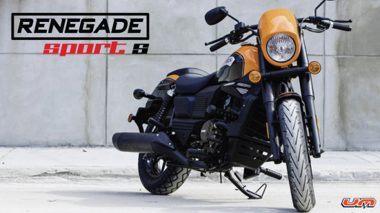 Lexmoto Adventure Club Introducing the Renegade Sport S