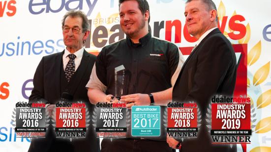 Lexmoto is a Multi Award Winning Company