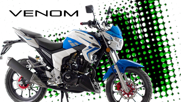 New - Lexmoto Venom 125cc