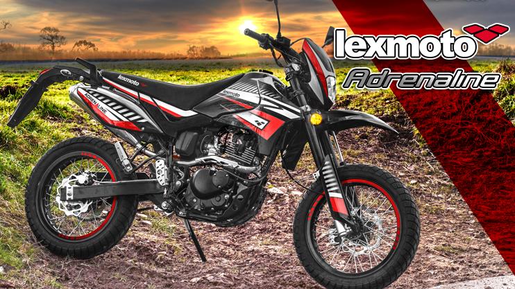 New - Lexmoto Adrenaline