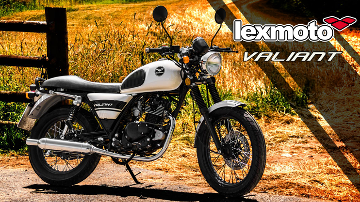 New - Lexmoto Valiant 125cc