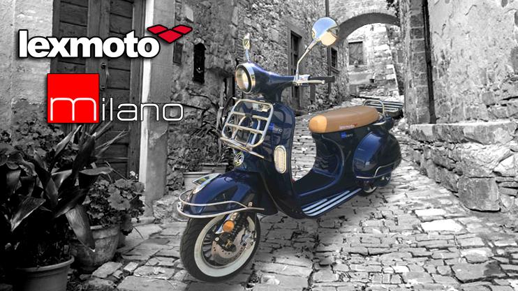 New - Lexmoto Milano