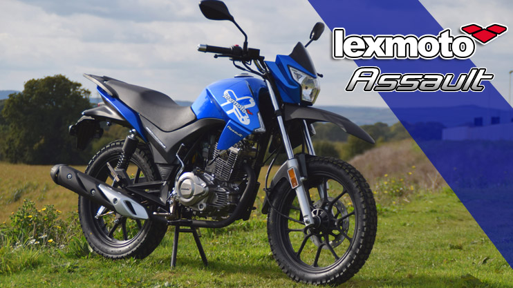 New - Lexmoto Assault