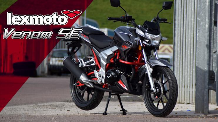 New - Lexmoto Venom SE