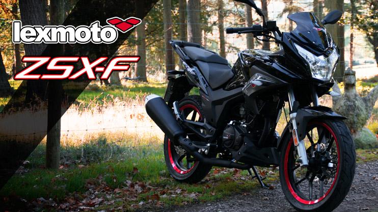 New - Lexmoto ZSX-F