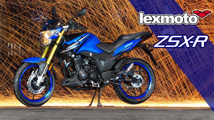New - Lexmoto ZSX-R