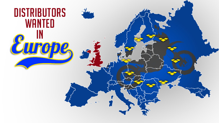 European Distributors Wanted